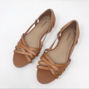 Torrid Tan Sandals Women's 10                Q-595